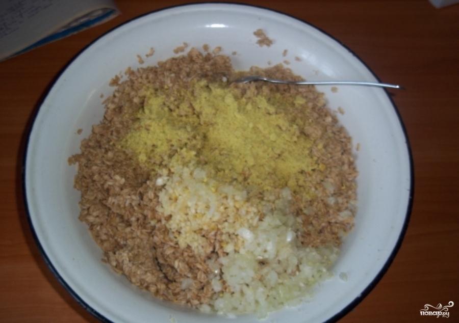 Котлеты из геркулеса постные рецепт пошагово