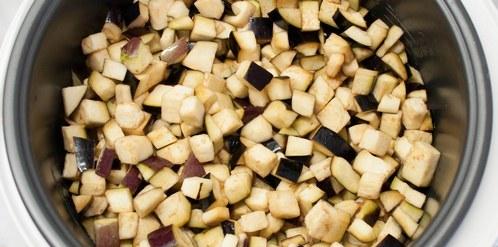 салат охотничий на зиму рецепт с баклажанами
