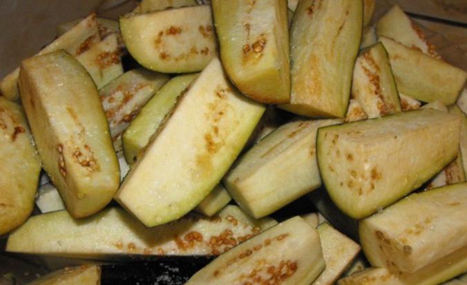 Рецепт Закатка из баклажанов