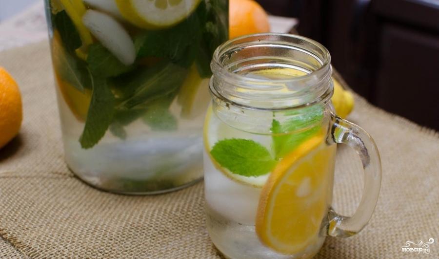 Лимонная вода для похудения - фото шаг 4
