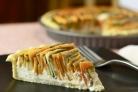 Пирог с морковкой и кабачком