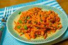 Французский салат из моркови