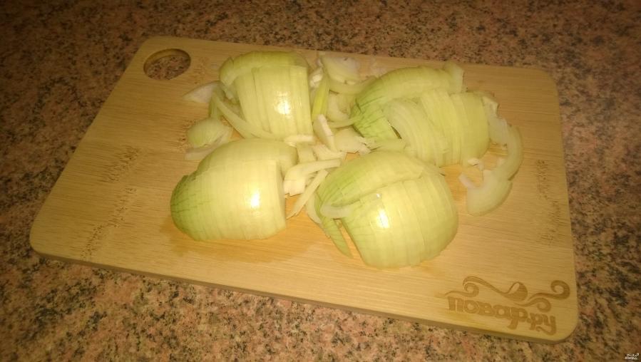 Запеченный картофель с грибами - фото шаг 2