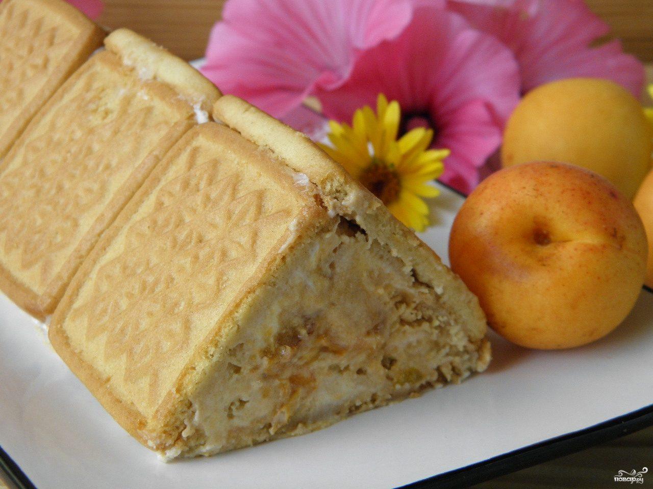 торт из печенья с сгущенкой рецепт с фото