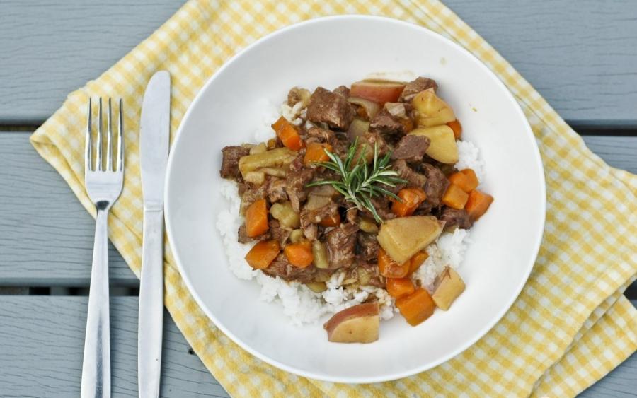 Подлива из свинины с морковкой - фото шаг 6