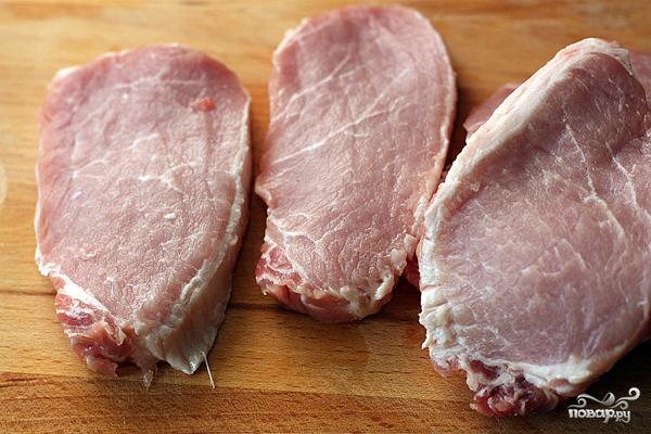 Венский шницель из свинины - фото шаг 1