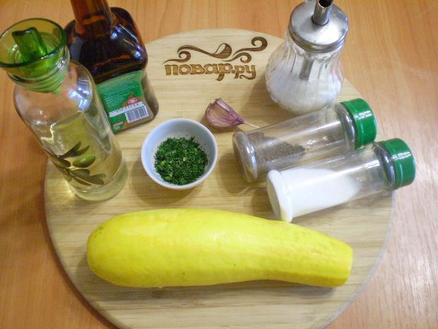 Рецепт Быстрые маринованные кабачки