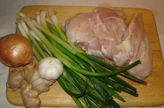 Рецепт Тушеная куриная грудка