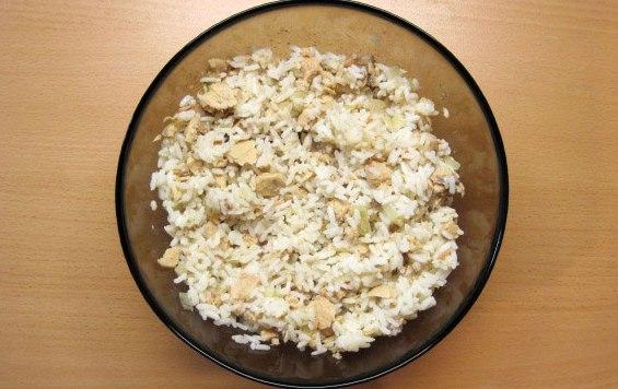 Пирожки с рисом и рыбой - фото шаг 9