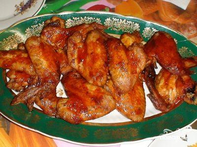 Куриные крылья в кляре