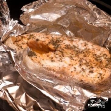 Запеченная семга в духовке - фото шаг 5