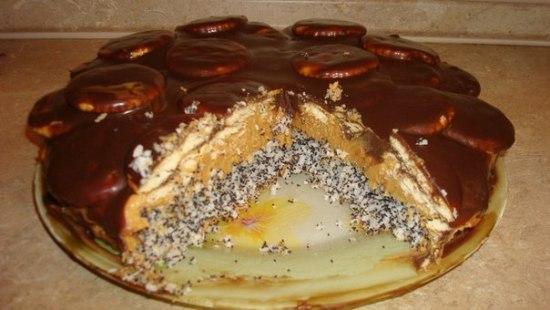 "Торт ""Лилия"" - фото шаг 4"