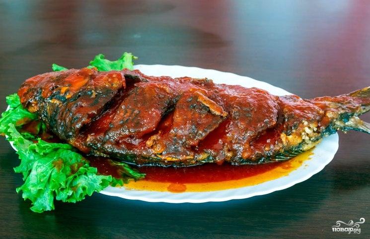 Рыба в шарабане рецепт пошагово