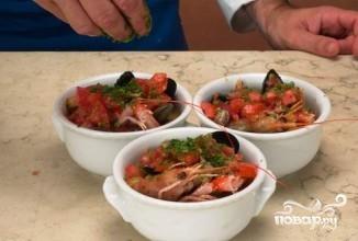 Итальянский рыбный суп - фото шаг 5