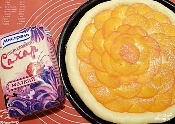 Пирог с хурмой - фото шаг 8