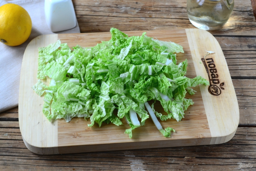 пекинская капуста салат помидоры