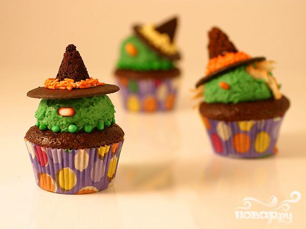 Рецепт Ведьмины кексы