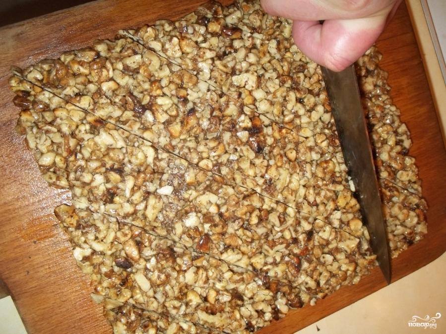 Ореховые козинаки - фото шаг 10