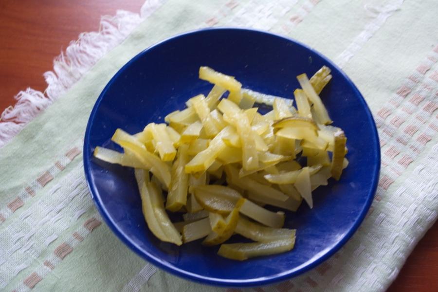 Салат быстро и вкусно - фото шаг 3