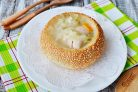 "Суп ""Щи"" в хлебе"