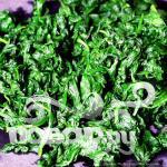 Ошиташи - Отварной шпинат - фото шаг 4