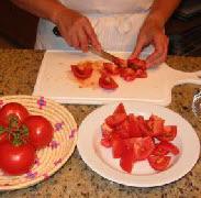 Пенне с помидорами и красным перцем - фото шаг 1