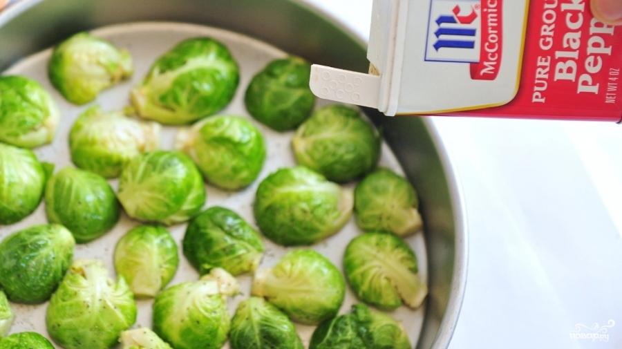 Брюссельская капуста в духовке - фото шаг 2