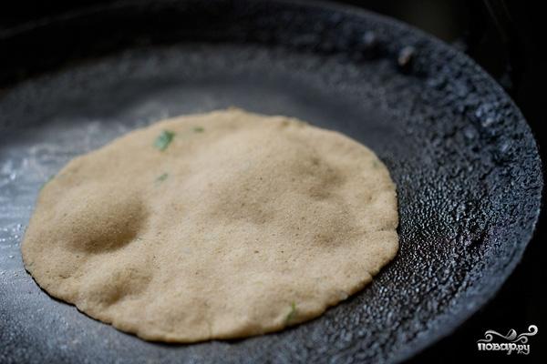 Амарантовые хлебцы - фото шаг 9