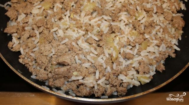 Блинный пирог с мясом  - фото шаг 3
