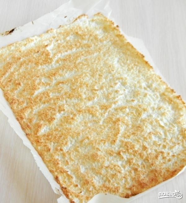 Кокосовое пирожное - фото шаг 4