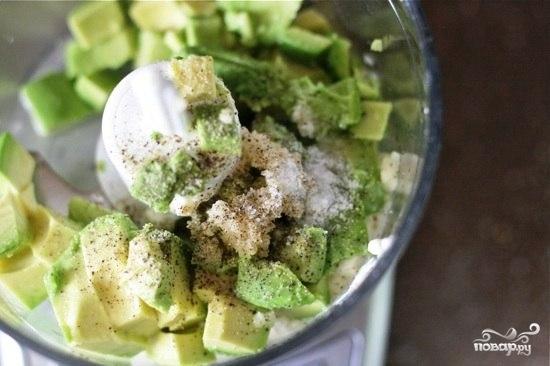 Заправка для цезаря из авокадо - фото шаг 5