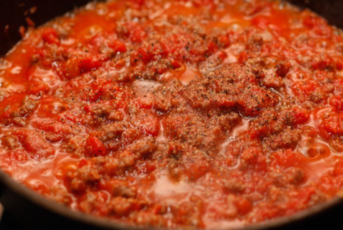 Каннеллони, фаршированные мясом - фото шаг 6