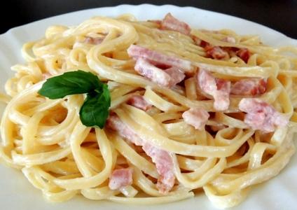 Спагетти карбонара в мультиварке - фото шаг 13
