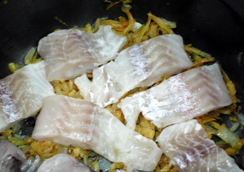 рецепт рыба в омлете в духовке рецепт с фото