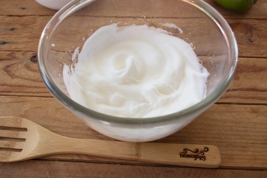 Рецепт Суфле из кабачков с грибным соусом
