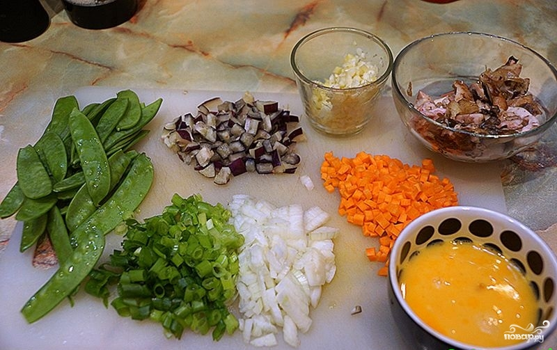 Тайский рис с курицей - фото шаг 2
