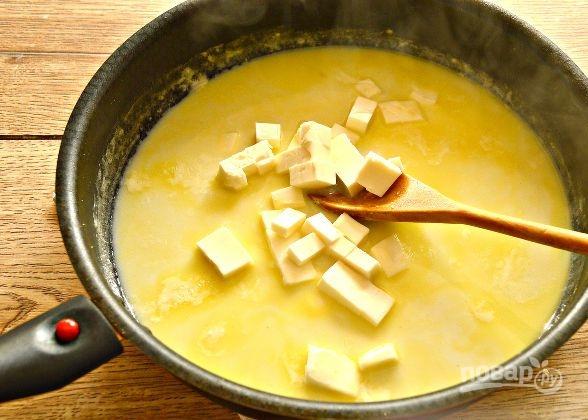 Рецепт соуса с плавленым сыром