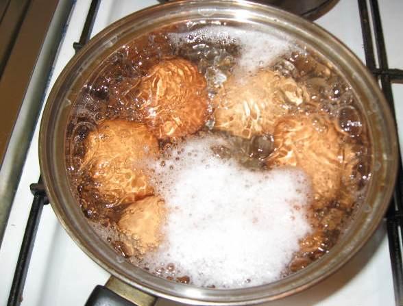 Рецепт Начинка из яиц для пирожков