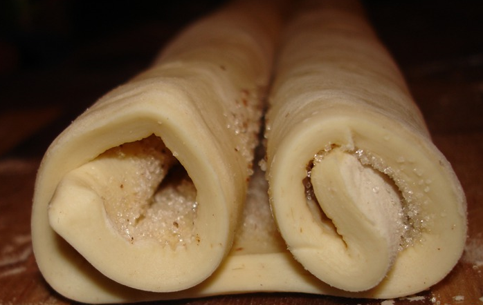 Печенье из слоеного бездрожжевого теста - фото шаг 2
