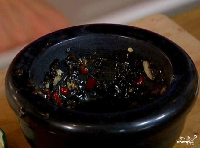 Салат с осьминогами в рассоле - фото шаг 2