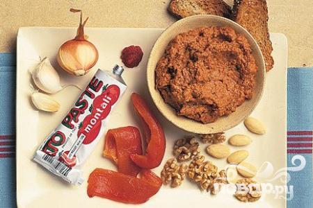 Рецепт Соус из чили, орехов и сладкого перца