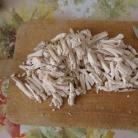 Рецепт Куриный салат с солеными огурцами