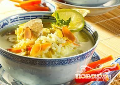 Рецепт Азиатский куриный суп