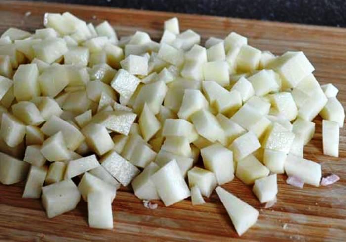 Рецепт Картофельный суп с ветчиной