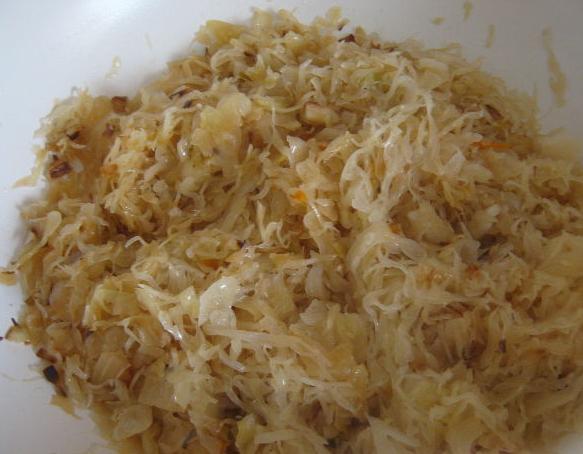 Рецепт Квашеная капуста тушеная