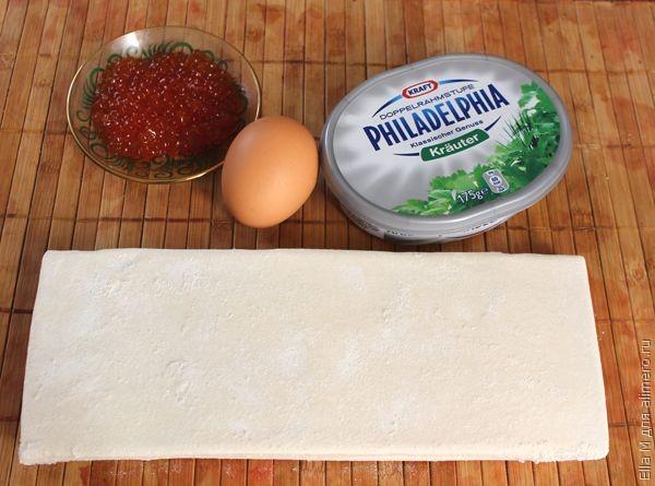 Рецепт Волованы с икрой
