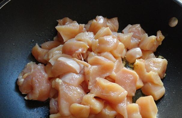 Куриное филе с соусом карри и овощами - фото шаг 3
