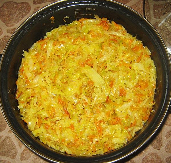 Курица с капустой и рисом - фото шаг 6