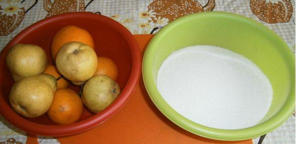 Варенье из груш в мультиварке - фото шаг 1