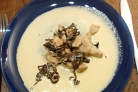 Индейка с грибами в сливочном соусе